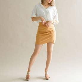 選べるビッグリボンスカート (タイト モカブラウン)