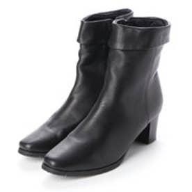 ブーツ 折り返し 本革 日本製 (BL)