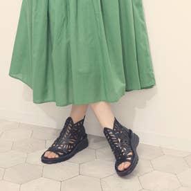ブーツ サマーブーツ パンチ 本革 日本製 (BL)