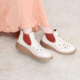 サマーブーツ ブーツ 本革 日本製  軽量底 4E 歩きやすい (IV)