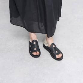 前あきカジュアルシューズ 本革 日本製 サマー 外反母趾 (BL)