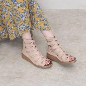 サマーブーツ ブーツ 4E 本革 日本製 厚底 外反母趾 (VANIRA)