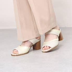 ミュールサンダル エナメルコンビ 本革 日本製 外反母趾 歩きやすい (IV)