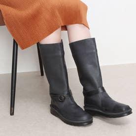 ブーツ ロングブーツ 本革 4E (BL)