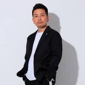 YZO【宮迫Edition】テーラードライトジャケット(裏地なし) (ブラック)【返品不可商品】