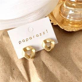 ツイスト デザインピアス 7999 (GOLD)