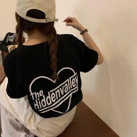 バックプリントTシャツ 8243 (BLK)