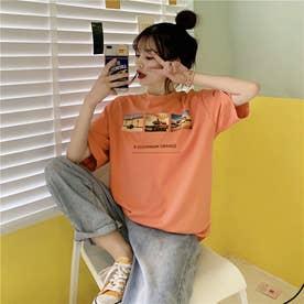 フォトプリント Tシャツ 8227 (PNK)
