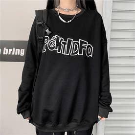 フロントロゴ ロングTシャツ 8225 (BLK)