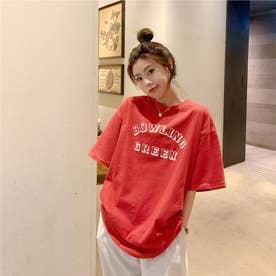 カジュアルロゴTシャツ 8380 (RED)