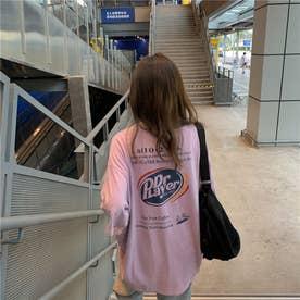 サインプリントTシャツ 8404 (PPL)