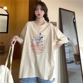 レトロプリントTシャツ 8400 (BEG)