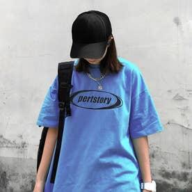フロントロゴTシャツ 8490 (BLU)
