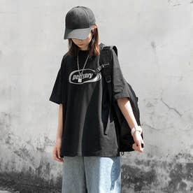 フロントロゴTシャツ 8490 (BLK)