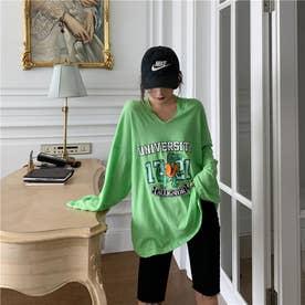 ワニさんプリントロングTシャツ 8669