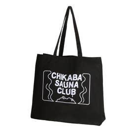 【CHIKABA SAUNA CLUB】 トートバック (ブラック)