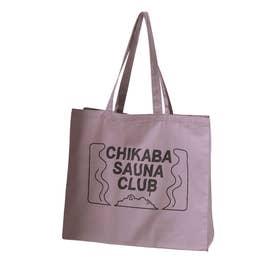 【CHIKABA SAUNA CLUB】 トートバック (パープル)