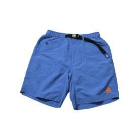 【GERRY】水陸両用 接触冷感 紫外線カット ナイロンガーデニングクライミングショートパンツ (ブルー)【返品不可商品】
