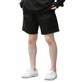 【撥水加工】【スーパーストレッチ】超軽量スーパーストレッチ エアリー キーリング付きショートパンツ (ブラック)