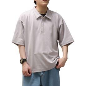 T/Cポンチポロシャツ (ライトグレー)