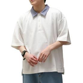 T/Cポンチポロシャツ (ホワイト)