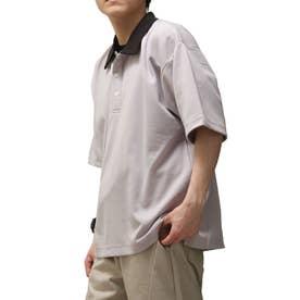 T/Cポンチポロシャツ (グレー)