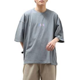 ASOBIプリントBIG Tシャツ【ユニセックス】 (ブルー)
