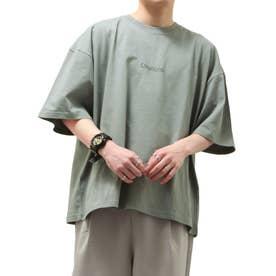 【UNCORD】フォトイラストプリントビッグ Tシャツ【ユニセックス】 (グレー)