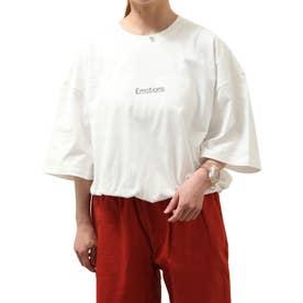 【UNCORD】フォトイラストプリントビッグ Tシャツ【ユニセックス】 (ホワイト)