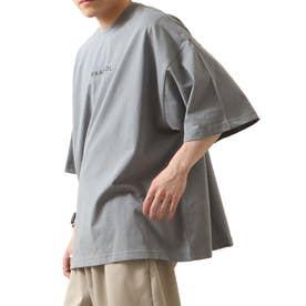 【コラボ】【ZIP FIVE×KANGOL】 ガールバックプリント半袖BIGTシャツ【ユニセックス】 (ブルー)