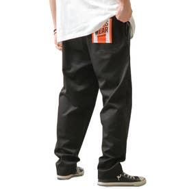 [Cooker Pants]テーパードワイドイージーシェフパンツ【ユニセックス】 (ブラック)