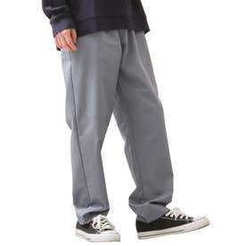 [Cooker Pants]テーパードワイドイージーシェフパンツ【ユニセックス】 (ブルー)