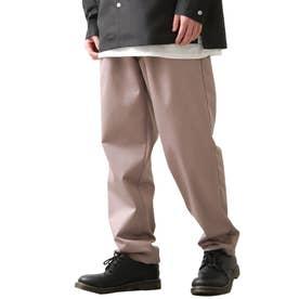 [Cooker Pants]テーパードワイドイージーシェフパンツ【ユニセックス】 (パープル)