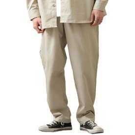 [Cooker Pants]テーパードワイドイージーシェフパンツ【ユニセックス】 (ライトベージュ)