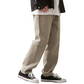 [Cooker Pants]テーパードワイドイージーシェフパンツ【ユニセックス】 (グレー系)