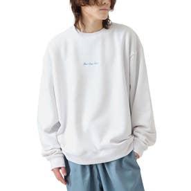 裏起毛バックイラストスウェット【ユニセックス】 (ホワイト)