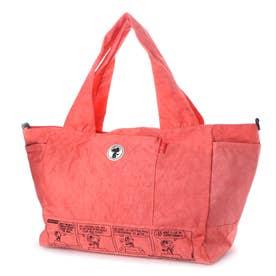ズッケロ フィラート ズッケロ フィラート×スヌーピー コラボアイテム 2wayトートバッグ (ピンク)