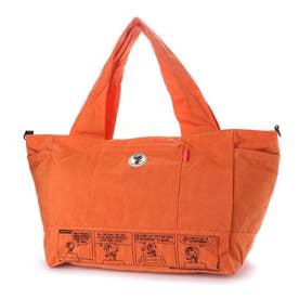 ズッケロ フィラート ズッケロ フィラート×スヌーピー コラボアイテム 2wayトートバッグ (オレンジ)