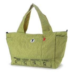 ズッケロ フィラート ズッケロ フィラート×スヌーピー コラボアイテム 2wayトートバッグ (グリーン)